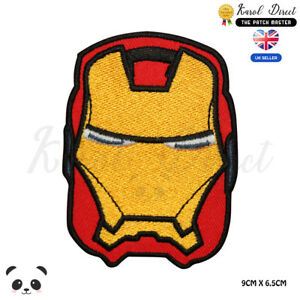 Ironman-Superhero-Movies-Embroidered-Iron-On-Patch-Sew-On-Badge