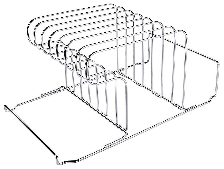 Gn ablagegestell, of acier inoxydable wire, for seven 50 lid 6 x 32,5 x