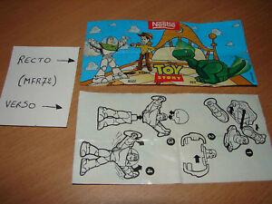 Nestle Disney Pixar Buzz Eclair Lightning 1998 Bpz Pgan7hs1-07220645-869271517