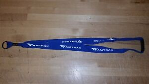 Amtrak-Blue-Lanyard-unofficial-with-key-ring-end
