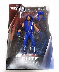 NEW-WWE-Mattel-Elite-Collection-Survivor-Series-AJ-STYLES-Wrestling-Figure-955