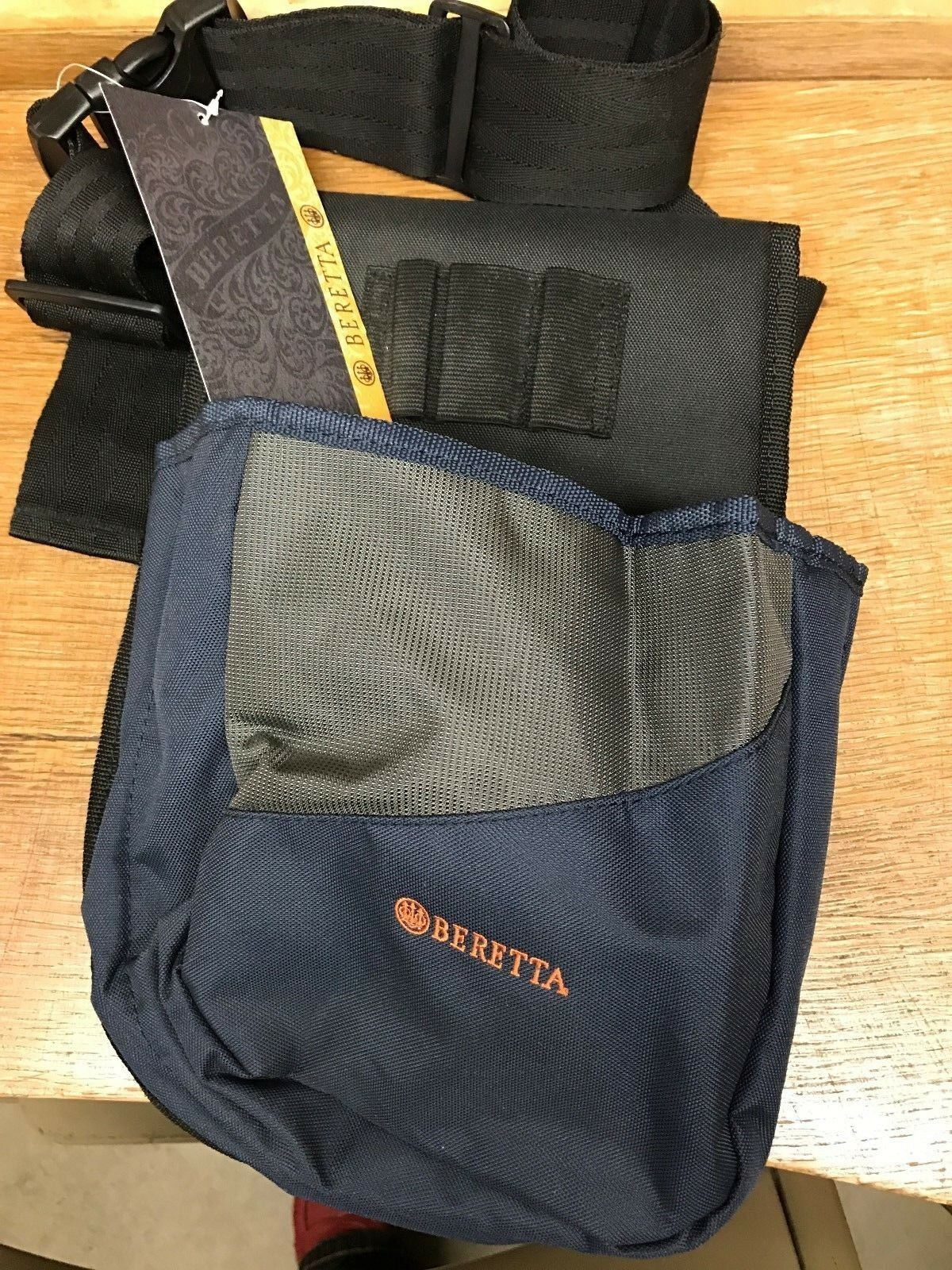 Beretta Pro Cartridge Shell Pouch With Belt 50 for Shooting Hunting WW ship