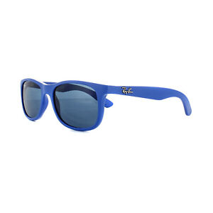 Image is loading Ray-Ban-Junior-Sunglasses-9062-701780-Blue-Blue 9cd5f1a6f6