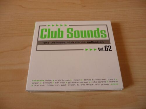 1 von 1 - 3 CD Set Club Sounds Vol. 62 - The Ultimate Club Dance Collection - 2012