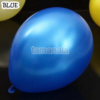 "25, 50, 75, 100 PCS Birthday Wedding Baby Shower Party Pearl Latex Balloons 12"""