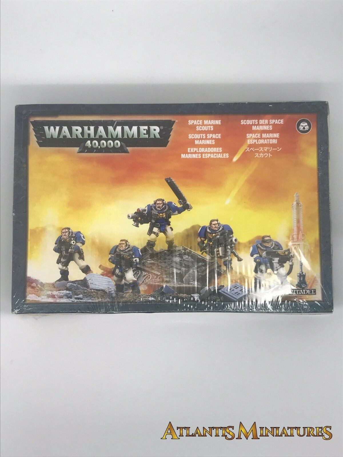 Space Marine Scouts Boxed - Warhammer 40K N190