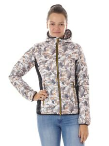 CMP-Outdoor-Jacket-Functional-Jacket-Quilted-Jacket-White-Pattern-Thinsulate