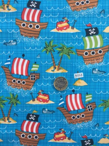 SHIP AHOY 100/% Cotton FABRIC