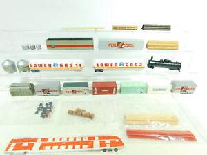 BH772-1-Konvolut-H0-1-87-Ladegut-Container-etc-Maerklin-Roco-Roewa-etc