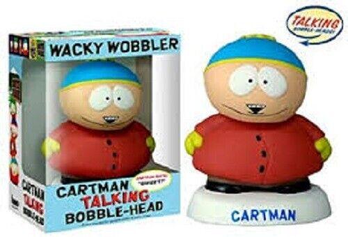 South Park Wacky Wobbler Habla Cartman Figura Nuevo y Sellado