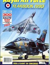 Royal Air Force Yearbook 1990 Magazine EX No ML 112616jhe