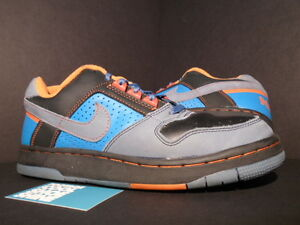 2004 Nike Zoom Air DELTA FORCE SB REGEAN BLUE THUNDERSTORM GREY ORANGE BLACK 11