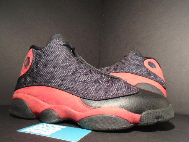 2018 Nike Air Jordan XIII 13 Retro BLACK TRUE FIRE RED WHITE BRED 414571-010 11