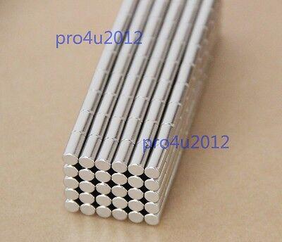 50pcs 5 X 10mm Neodymium Disc Super Strong Rare Earth N35 Small Fridge Magnets