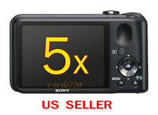 5x Sony CyberShot DSC-H90 Clear LCD Screen Protector Guard Shield Film