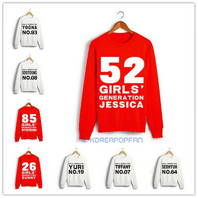 GIRLS' GENERATION Snsd KPOP UNISEX SWEATER crewnecks sweatshirt JUMPER taeyeon