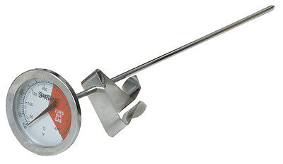 "Bayou Classic 5025 12"" Stainless Steel Carded Cooking Thermometer"
