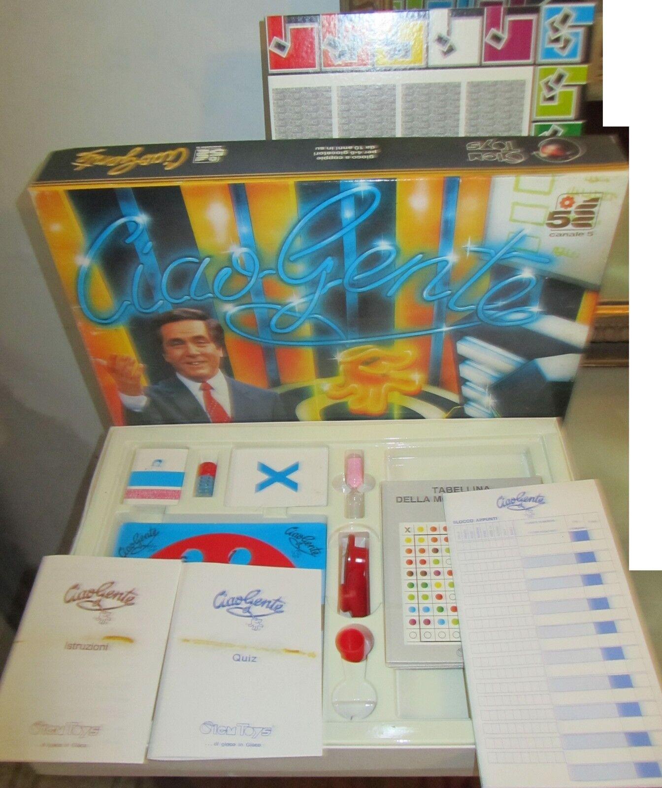 Ciao Gente Corrado -  Board Game Gioco In Scatola Tavolo Clementoni Clem Toys