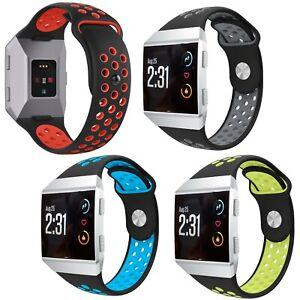 Cinturino-polso-bracciale-traforato-traspirante-leggero-per-Fitbit-Fit-Bit-Ionic