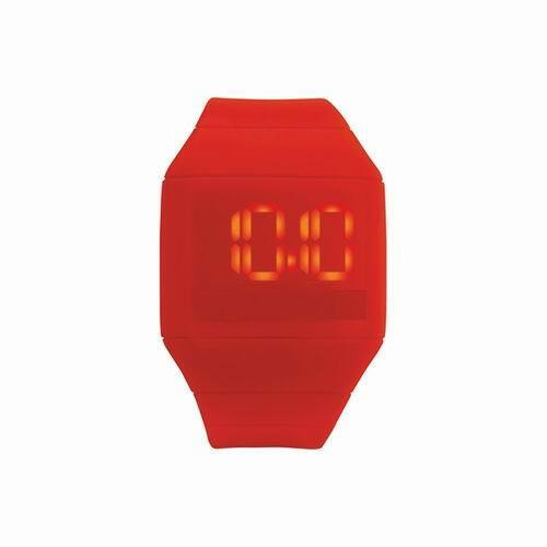Lot of 12 Pieces - Futuristic Digital Watches – Red