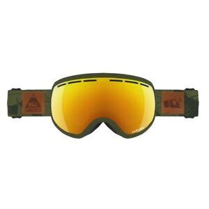 1a74281bc4a NEW Sandbox THE BOSS Snowboard Ski Snowmobile Goggle JUNGLE GOLD ION ...