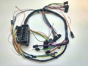 1965 Chevy Impala Under Dash Wiring Harness Column Shift ...