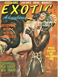 Exotic Magazine: 1960's - Sex, Pulp, Japan's Nude Market, Berlin Prostitute
