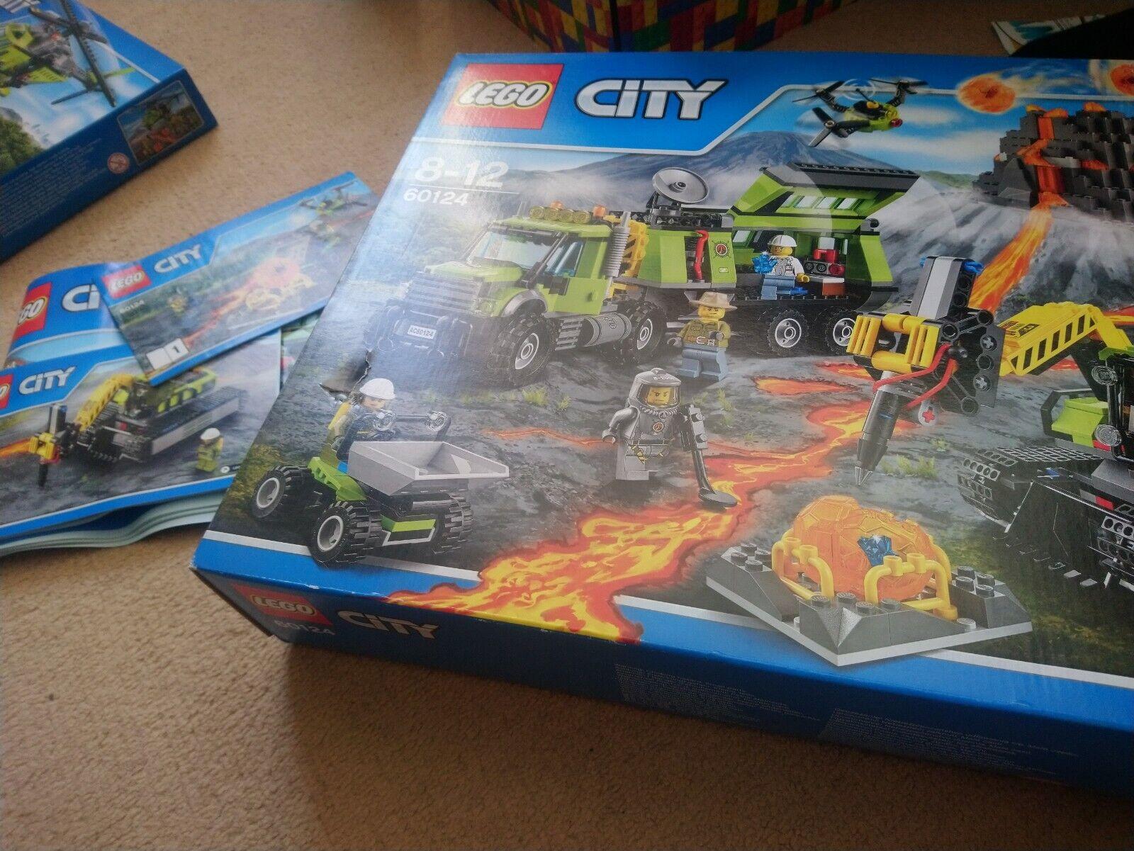 Lego 60124 Juego de volcán
