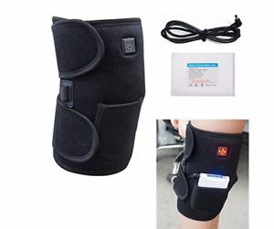ARRIS Heated Knee Brace Wrap W  2600Mah Battery ElectricTherapeutic Heating Pad