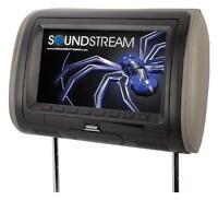 Soundstream Vh-90hd Universal 9 Lcd Headrest Monitor Mhl Mobilelink Input