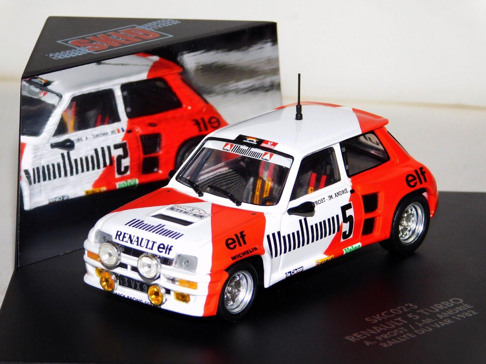 Renault 5 Turbo Rallye du Var 1982 A. Prost Prost Prost Skid SKC023 1 43 068187