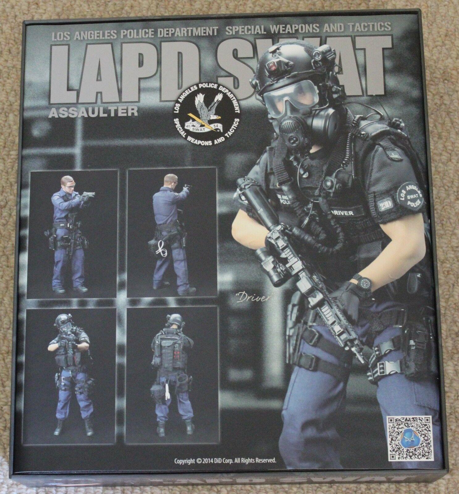 DID Action Figure 1 6 12  LAPD SWAT conducteur Coffret Jouet Dragon Cyber Hot Toys