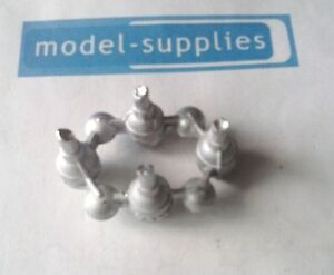 Dinky-359-360-Space-1999-Eagle-reproduction-white-metal-engine-unit