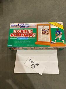 1991 STARTING LINEUP - SLU - NFL - BARRY SANDERS - LIONS - HEADLINE COLLECTION