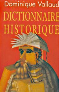 ++dominique Vallaud Dictionnaire Historique 2004 Grand Livre Du Mois++