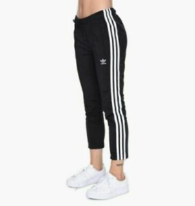 new concept bf4d3 0daeb Image is loading ADIDAS-Cigarette-Pants-in-Black-BP-9375-Q-