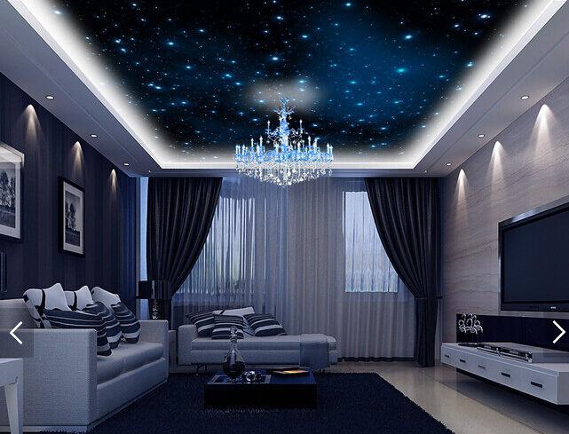 3D Sterne in der Nacht 445 Fototapeten Wandbild Fototapete BildTapete Familie DE