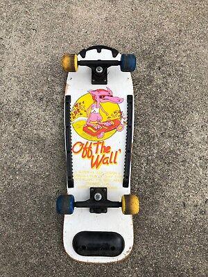 RARE Vtg Vans OFF THE WALL Skateboard