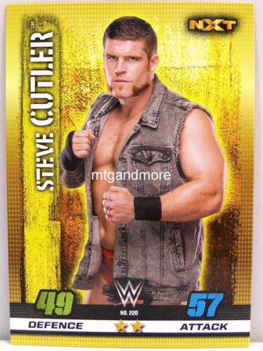 Slam Attax #220 Steve Cutler 10th Edition