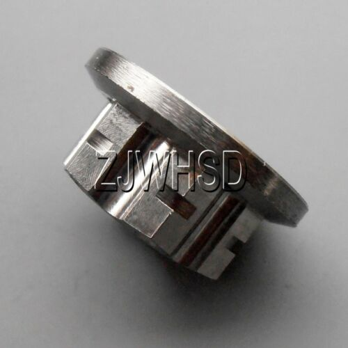 M10 x 1.25 Titanium Ti Hex Flange Flower Nut for Motorcycle Bicycle Boat Car DIY