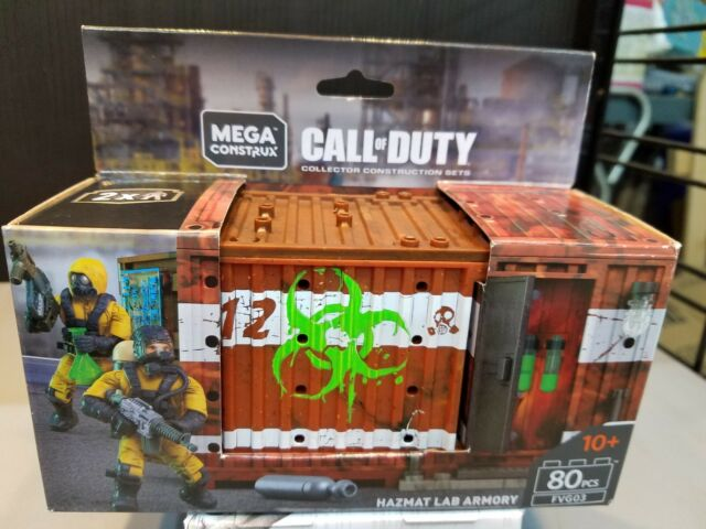 Mega Construx Call of Duty Hazmat Lab Armory Building Set BRAND NEW FMG04
