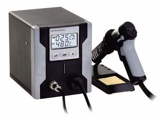LEAD FREE DESOLDERING STATION WITH LCD PANEL ZD-8915 grau 220V EURO PLUG