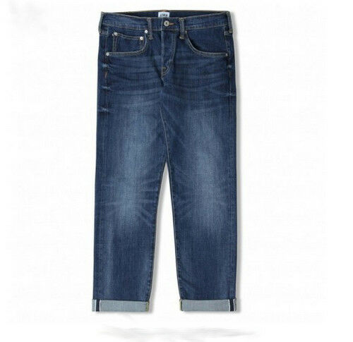 JEANS EDWIN ED 55 REGULAR TAPERED (cs red listed-lido wash) W31 L34 VAL