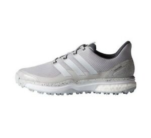 best website 39f99 392ff Image is loading adidas-Mens-Adipower-Sport-Boost-2-Grey-White-