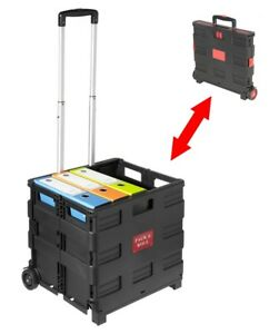Carro-Plegable-PACK-AND-ROLL-transporte-hasta-25-kg-compra-camping-herramienta