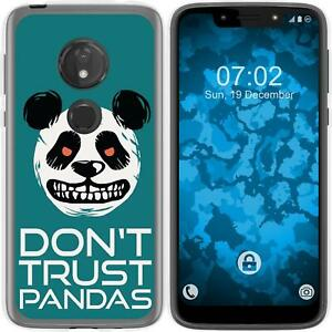 Case-for-Moto-G7-Play-Silicone-Case-Crazy-Animals-Panda-M2