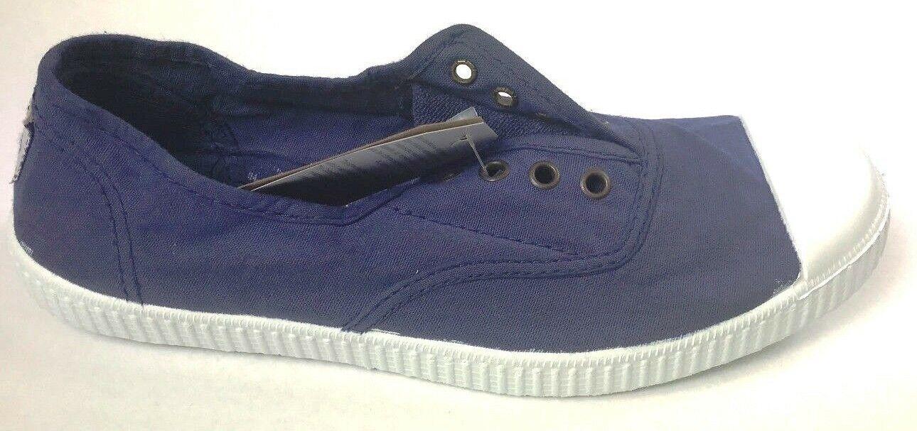 NEW Victoria Footwear Inglesa Elastico. color Tinta. Made in Spain