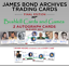 2017 James Bond Archives The Final Edition Complete Die Another Day Base Set