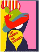 16x20decoration Poster.interior Design Art.no Somos De Piedra.spanish.6360