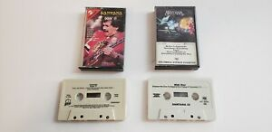 Carlos-Santana-Lot-of-2-Music-Cassette-Tapes-Self-Titled-Doin-039-It-PRE-OWNED